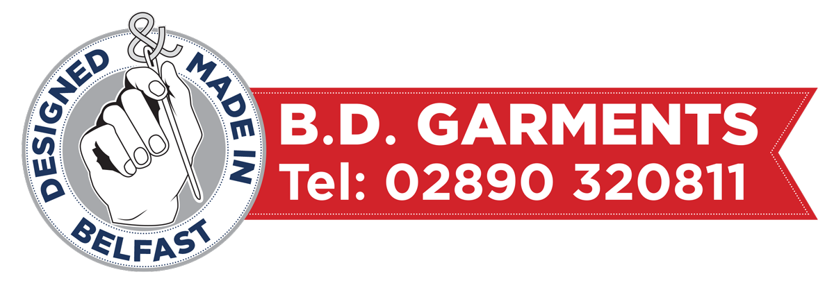 BD Garments – Northern Ireland Logo